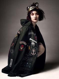 Visual Junkee           - PUNK ROCK PRINCESS - model: Mona Matsuoka -...