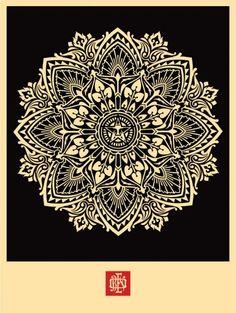 Mandala Ornament by Shepard Fairey