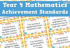 Maths Achievement Standards - Yr4