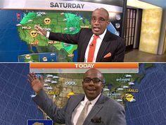 Spot on. Kenan Thompson stops by Today Show to chat #SNL39 with Al Roker.