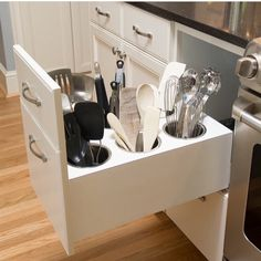 To Know More About Small Kitchen Organization Apartment Space Saving Storage Solutions 57 - Homegoodinspira Kitchen Storage Solutions, Grey Kitchen Cabinets, Kitchen Cabinet Organization, Kitchen Redo, Storage Cabinets, Organization Ideas, Storage Ideas, Kitchen Ideas, Kitchen Upgrades