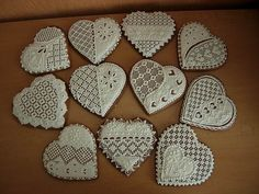 Traditional Slovak Gingerbread as Wedding Favors.
