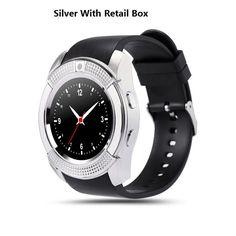 Original Sport Watch Full Screen Smart Watch V8 For Android Match Smartphone Support TF SIM Card Bluetooth Smartwatch PK GT08