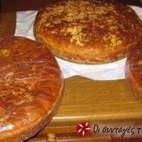 Easter Recipes, Thanksgiving Recipes, Jam Tarts, Vegetarian Recipes, Cooking Recipes, Bread Cake, Slice Of Bread, Greek Recipes, Bread Baking