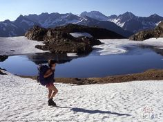 The Heaven's Gate Route. Lake Punturri. (El Pallars-Sobirà, Lleida Pyrenees-Spain)