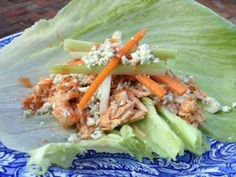 Advocare 24 Day Challenge! Crock Pot Buffalo Chicken Lettuce Wraps! Click on my picture for recipe I used. Click here... http://www.advocare.com/... for Advocare 24 Day Challenge!