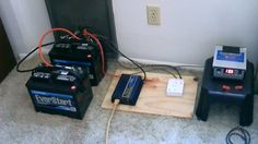 Watch the DIY off-grid AC Power Station Build Video