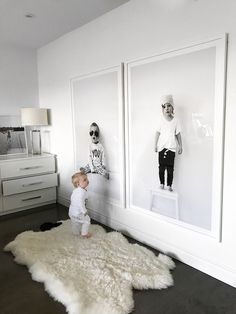 Blow Up Your Kids Portraits for BIG Impact Art | ericashawandcompany