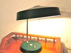 50er 60er Jahre Schreibtisch Lampe von LOFT 43 auf DaWanda.com