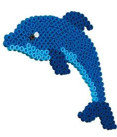 Dolphin Hama Fuse Beads