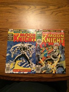 Marvel-Spotlight-28-And-29-First-Solo-Moon-Knight-High-Grade-VF-Complete