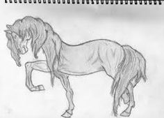 Image result for simple horse drawings