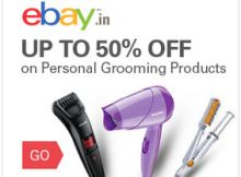UP TO 50% OFF on Personal Grooming Products at ebay Shopping, Ebay, Products