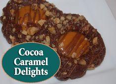 Cocoa Caramel Delights - Christmas cookie recipe