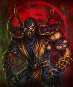 Mortal Kombat Scorpion by HeeWonLee on deviantART
