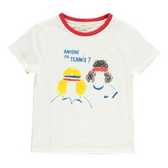 Tennismen T-Shirt Hundred Pieces Teen Children- A large selection of Fashion on Smallable, the Family Concept Store - More than 600 brands.