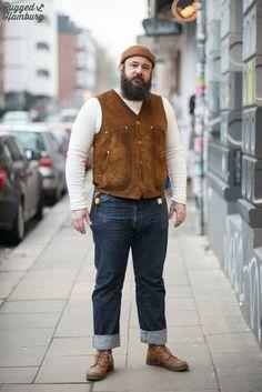 Bearded Rugged Guy
