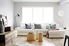25 décors tout en blanc inspirants: blanc ton sur ton (Photo: Virginia MacDonald) | Décormag