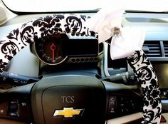 Nice Cars girly 2017: Cool Cars girly 2017: Steering wheel cover Damask Car Accessories by TurtleCoveS...  Cars World Check more at http://autoboard.pro/2017/2017/05/16/cars-girly-2017-cool-cars-girly-2017-steering-wheel-cover-damask-car-accessories-by-turtlecoves-cars-world/