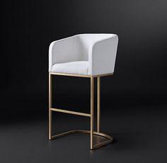 Emery Barrelback Fabric Chair Collection   RH Modern