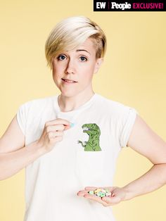 Everyone's Hanging Out in PEOPLE/EW's VidCon Photo Booth (We Mean Everyone)   HANNAH HART   After seeing the MyHarto vlogger's awesome tee, we nearly changed the VidCon photo booth dress code to mandate all talent wear dinosaur-themed ensembles.