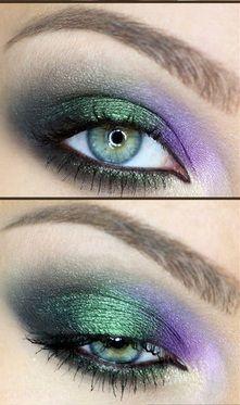 peacock eyeshadow colors