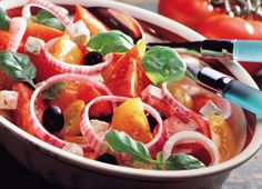 Tomatsalat med feta