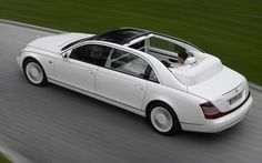 ❦ White Maybach