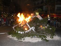 Foguera Sant Joan 2013