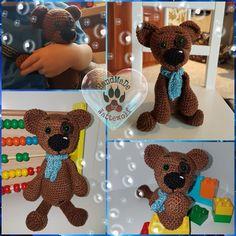 Teddy nach meiner Anleitung  #Häkeln #crochet