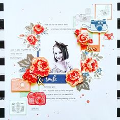 Kaisercraft Products: Boho Dreams Collection Polaroid Frame, My Beautiful Daughter, 3rd Baby, Pretty Patterns, Gel Pens, Scrapbooking, Scrapbook Layouts, Pattern Paper, Amanda