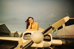 Christina Beam Photography | Airport Runway Senior Portraits | Beyond the Wanderlust Fan Feature | Beyond The Wanderlust