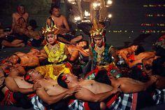 Kecak dance - Ubud, Bali, Indonesia