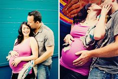 fun maternity photo shoot ideas