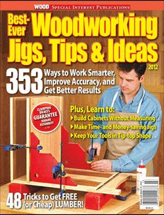 Woodworking Jigs Tips & Ideas Woodworking Books, Popular Woodworking, Woodworking Projects Plans, Home Electrical Wiring, Electrical Projects, Wood Jig, Wood Magazine, Home Tools, Built In Cabinets