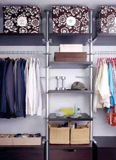 Closet Clutter-Busters  (plus, 10 Things to Toss)   Author: Jacqueline Gifford, Brides Magazine    Image: Mark Luno