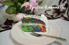 Tie dye cake o torta arcobaleno