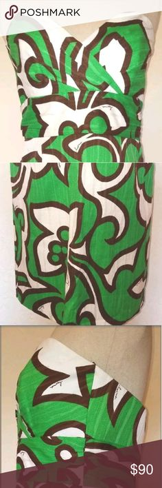 0ddccf9e88192 Milly Green Halter Dress Size 6 From Milly New York is this beautiful  halter dress.