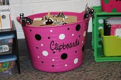 I want this for my classroom to hold my clipboards that I plan to redo and the list continues...