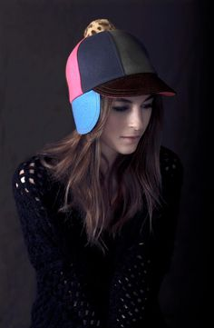 #Millinery #Hats @Lola M Hats Pieced Fudd