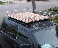 Aluminum Off Road Roof Rack For A Ford Econoline Van With