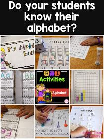 5 Alphabet activities to help your students learn their letters