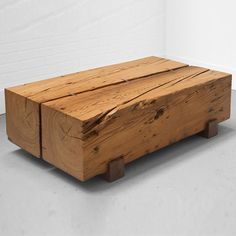 These coffee tables can be considered as one-of-a-kind, as no two pieces of timber look exactly the same. All the coffee table designs below are made using salvaged or reclaimed timber. http://www.home-dzine.co.za/decor/craft-unique-coffee-table-ideas.htm