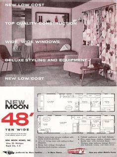 1953 Redman New Moon Trailer Bing Images Vintage
