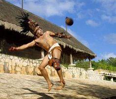 Antecedente del futból, juego de pelota Maya