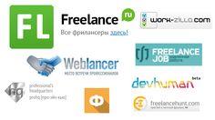 Все самые лучшие сайты #фриланса и биржи для поиска #удалённой #работы в интернете Здесь собраны самые популярные сайты среди фрилансеров и заказчиков, на которых можно найти задания во всех возможных профессиях интернета:  fl.ru — Больше подходит для профессионалов с хорошим #портфолио и опытом, новичкам там сложно пробиться.  weblancer.net — В данный момент насчитывает более 3 тысяч открытых заказов. freelance.ru — ниши: дизайн, программирование, копирайт и т.д. work-zilla.com — биржа для…
