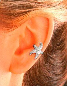 This is so cute! #EarCuff #Starfish #StarfishEarring