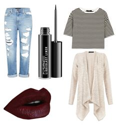 """Casual fall ootd"" by ofekpreisfl5 on Polyvore featuring Genetic Denim, TIBI and MAC Cosmetics"