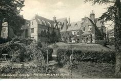 In keeping with this weeks #nationalgardeningweek theme, todays throw back Thursday post is an archive photograph showing the old Headmasters House from the Sanatorium garden #tbt #throwbackthursday #throwback #garden #gardening #cranleigh #cranleighschool #surrey #surreyheritage #heritage #archive #archivephotography #archivephoto #history #schoolhistory