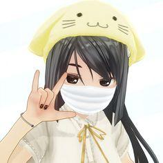 Kawaii Anime, Loli Kawaii, Gothic Anime, Vr Anime, Anime Art, Chicas Punk Rock, Chica Gato Neko Anime, Anime Monochrome, Emo Princess